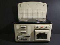 Vintage MFZ Fuchs Tin Toy Kitchen Stove Germany   eBay