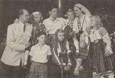Ileana and Anton with their children