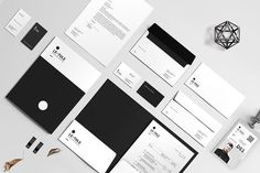 Ad: Corporate Identity by BOXKAYU on Creative Market. Corporate Identity is professional, fresh and clean InDesign stationary template. It is for designers working on corporate or based on the Business Folder, Business Fonts, Business Card Logo, Corporate Business, Stationery Templates, Stationery Design, Stationery Printing, Indesign Templates, Print Templates