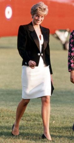 Princess Diana at a concert at Salisbury Cathedral.
