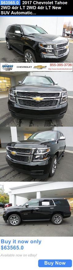 SUVs: 2017 Chevrolet Tahoe 2Wd 4Dr Lt 2Wd 4Dr Lt New Suv Automatic 5.3L 8 Cyl Black BUY IT NOW ONLY: $63565.0