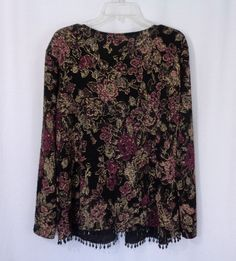 Womens Plus DRESSBARN COLLECTION 2 Pc Floral Sleeveless Top Jacket Set SZ 18-20 #dressbarn #BlouseJacket #CareerCasual