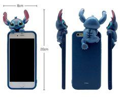 Disney Premium Art Jelly Case : Made in Korea TPU(Phone Case), PVC (Figure) Disney Genuine Product Certification : <Design> Stitch Mickey Minnie : <Phone Model> iPhone7 iPhone 7 Plus Galaxy Note 5 Galaxy note 3 Galaxy S6 iPhone 6S Plus iPhone 6s/6