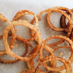 """""""Thinking about these Beer Battered Fried Extra Crispy Onion Rings that we have on the blog. I want to eat them alllllllll """" Photo taken by @spoonforkbacon on Instagram, pinned via the InstaPin iOS App! http://www.instapinapp.com (07/11/2015)"""