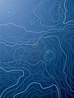 vector abstract blue map with no names Stock Photo - 9450830