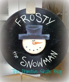 Frosty The Snowman Record - Got any old records laying around? via The Primitive Skate