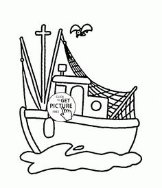 old ship coloring page for kids transportation coloring pages printables free wuppsycom transportation coloring pages pinterest kids