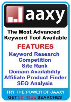 jaaxy banner - successful work online