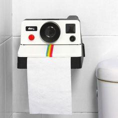 Polaroll Toilet Paper Dispenser Polaroid 80's Style