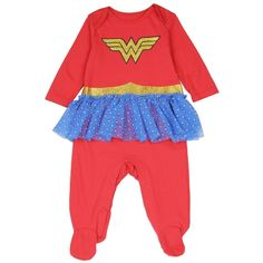 Wonder Woman Baby Costume Sleeper