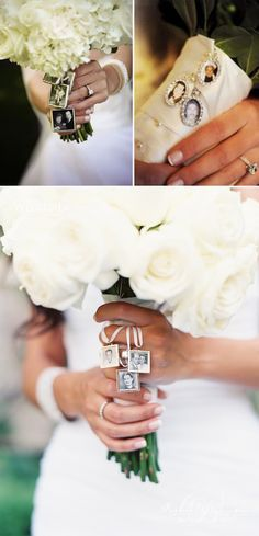 wedding bouquet ideas to remember deceased loved ones