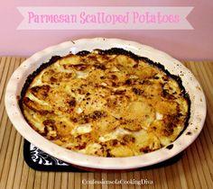cheesy parmesan scalloped potatoes