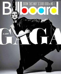 Billboard Magazine Lady GaGa