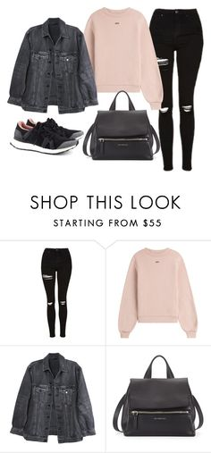 """Sans titre #785"" by alexejrd ❤ liked on Polyvore featuring Topshop, Off-White, Y/Project, Givenchy and adidas"