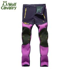 Hiking Pants Women Windstopper Thermal Softshell Pants Women Breathable Waterproof Climbing Pants Women Outdoor Pants HWB0052-5