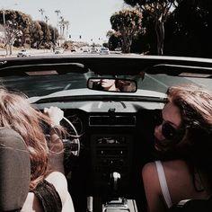 Imagen de girl, friends, and car