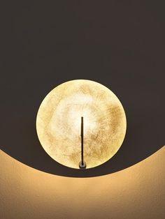 Catellani & Smith Luna 1 LED Parete vergoldet