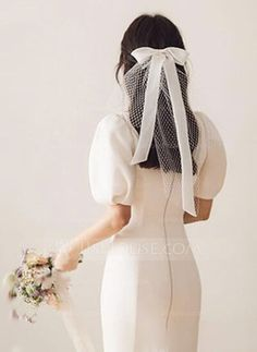 Bridal Looks, Bridal Style, Hair Ribbons, Civil Wedding, Wedding Veils, Lace Wedding, Bridal Headpieces, Bridal Hair Accessories, Wedding Jewelry