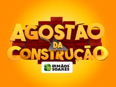 AGOSTÃO DA CONSTRUÇÃO on Behance