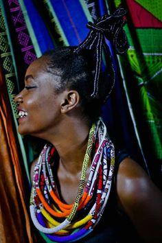 Editor's #Style Picks - Gorgeous #African necklaces.  #ZenMagazine | www.zenmagazineafrica.com  Accessories by Bazara'Pagne