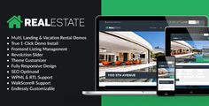 WP Pro Real Estate 7 is the end all be all of WordPress real estate themes, with powerful options & tools, advanced search & mapping, endlessly customizable with live previewer, 5 pre-built demos (more coming soon), 3 header layouts, co-listing support, booking system, front end management, Revolution Slider, dsIDXpress, favorite listings, sub listings and much, much more!  You can build anything with WP Pro Real Estate 7 from a paid real estate listing portal, to a vacations rental site…