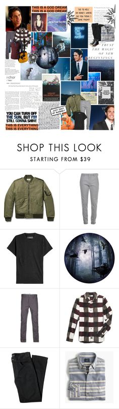 """""""WE GET IT ALMOST EVERY NIGHT {UU}"""" by monkeymanda22 ❤ liked on Polyvore featuring Yves Saint Laurent, Dondup, AMIRI, Next Innovations, LRG, Lords of Harlech, J.Crew, Converse, modern and men's fashion"""