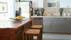 How Two Tone Cabinets Can Update Your Kitchen
