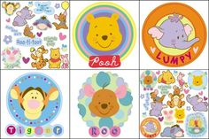Blue Mountain Wallcoverings 31420690 Pooh Heffalump SelfStick Wall Decorating Kit *** Read more reviews of the product by visiting the link on the image. (This is an affiliate link)