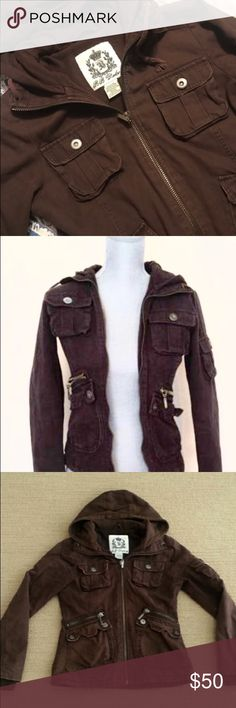"""BB Dakota """"Twilight"""" Cargo Beautiful factory distressed jacket, as seen in Twilight. Two flaws: Half zipper but still completely functional and missing button on one sleeve cargo pocket. Super cute coat! $140 new! Large on tag but runs small. More like a medium. BB Dakota Jackets & Coats"""