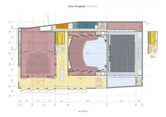 Ector Hoogstad architects theater aan de parade on DAFNE Theatres, Concert Hall, Opera House, Facade, Houses, Den, Drawings, Homes, Facades