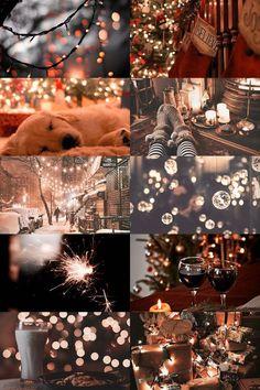 Christmas Time Is Here, Christmas Mood, Merry Little Christmas, All Things Christmas, Christmas Themes, Christmas Decorations, Christmas Collage, Prim Christmas, Hygge Christmas
