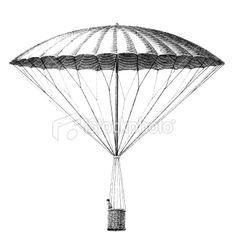 Early helium balloon