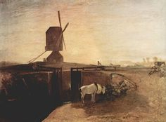 Turner, Joseph Mallord William: Der große Verbindungskanal bei Southall Mill (Grand Junction Canal at Southall Mill)