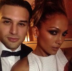 Ryan Guzman and Jennifer Lopez Photo: © Instagram