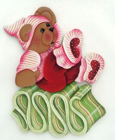 *TOLE-TALLY CUTE! ~ US $4.99 New in Crafts, Handcrafted & Finished Pieces, Handpainted Items