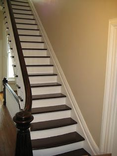 Pictures of Stairs with Runners | ... much rather sweep my steps with the fake paint runner instead