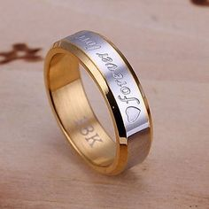 Cheap ring jewelry, Buy Quality ring punk directly from China steel ring Suppliers: gold color new listing tide boys always love steel ring punk style ring jewelry women men lovely nice noble Jewelry Rings, Silver Jewelry, Jewelry Accessories, Silver Rings, Women Jewelry, China Jewelry, Fashion Forever, Punk, Love Ring
