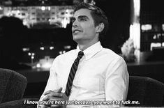 Pin for Later: Isn't It Time We Appreciate Dave Franco For the Sexy Beast He Is? Let's Just Get This Out of the Way Source: TBS