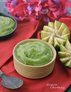 Guava Chutney, Amrood Chutney, Spicy Peru Chutney recipe | by Tarla Dalal | Tarladalal.com | #41345