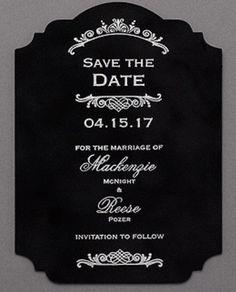 Vogue Velvet - Save the Date - Wedding Ideas Discount Wedding Invitations, Anniversary Invitations, Luxury Wedding Invitations, Unique Invitations, Wedding Programs, Bridal Shower Invitations, Wedding Events, Invites, Themed Weddings