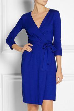 Diane von Furstenberg|New Julian jersey wrap dress|NET-A-PORTER.COM