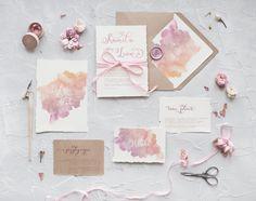 Zaproszenia ślubne botaniczne