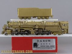 HO WMC D&RGW Rio Grande 4-6-6-4 Articulated L-105  Sold for $495.00