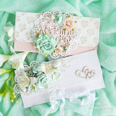 Handmade by Aleksa Kras: Свадебные неженки-конвертики