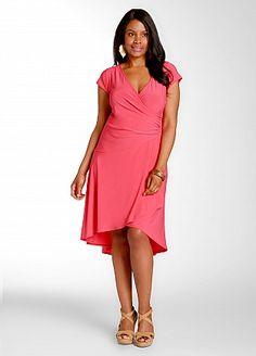 Ashley Stewart: Hi Low Hem Dress