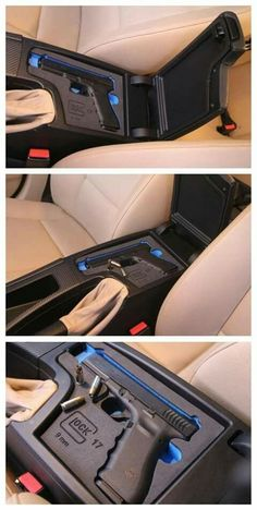 Glock center console carrier