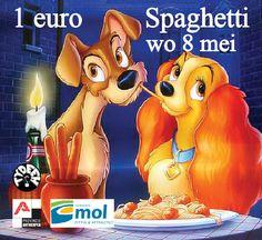 Onze vlinders Kris en Patricia maken de lekkerste spaghetti van heel Mol op grootmoeders wijze. Een vegetarische versie is er ook.