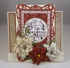 Center Step Christmas Card by Clownmom - Cards and Paper Crafts at Splitcoaststampers