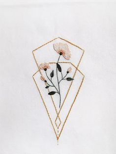hand embroidery stitches tutorial step by step Hand Embroidery Patterns Flowers, Simple Embroidery Designs, French Knot Embroidery, Hand Embroidery Projects, Geometric Embroidery, Embroidery Flowers Pattern, Hand Embroidery Stitches, Machine Embroidery Patterns, Vintage Embroidery