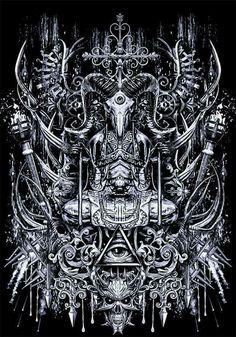 Arte Horror, Horror Art, Dark Fantasy Art, Dark Art, Giger Art, Satanic Art, Evil Art, Demon Art, Occult Art